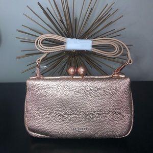 Ted Baker Chrina Crossbody Bag, Rose Gold, NWT